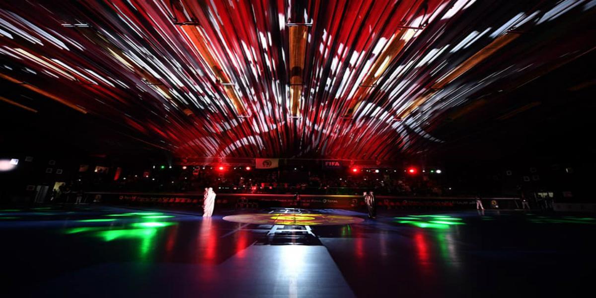 صورة حفل افتتاح كأس أمم إفريقيا لكرة القدم داخل القاعة العيون 2020- صور
