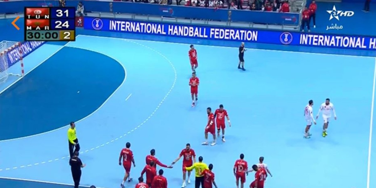 صورة المنتخب الوطني لكرة اليد ينتصر على الرأس الأخضر ويقترب من كأس العالم