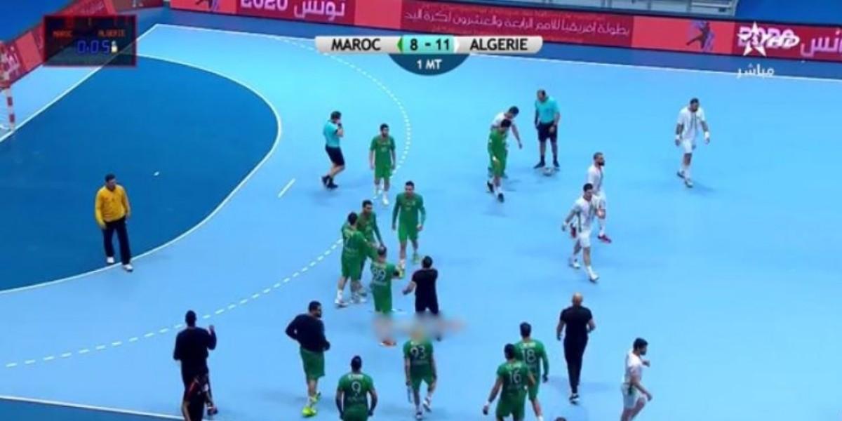 صورة المنتخب الوطني لكرة اليد ينهزم أمام الجزائر في كأس إفريقيا