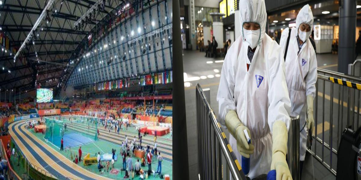 """صورة تأجيل بطولة العالم لألعاب القوى داخل القاعة بسبب """"كورونا"""""""