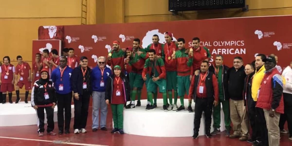 صورة حصاد متميز للأولمبياد الخاص المغربي في الدورة الأولى للألعاب الإفريقية