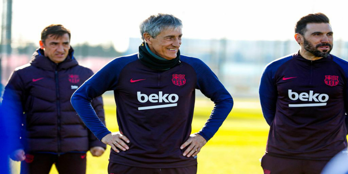 صورة سيتين يتخذ قرارات جديدة في برشلونة