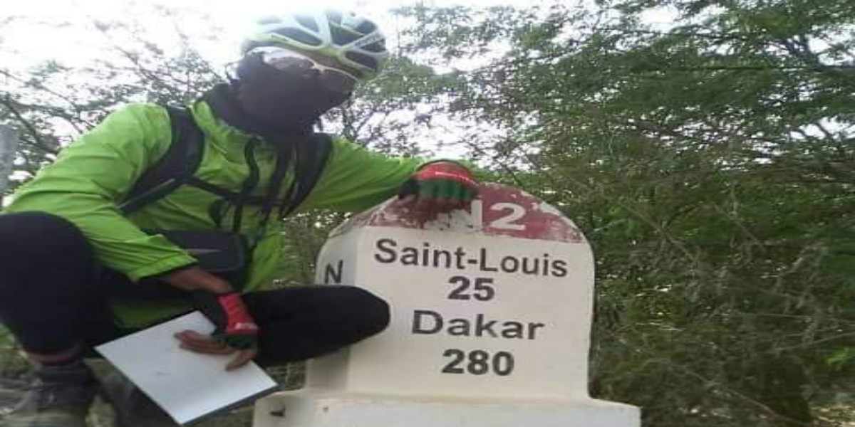صورة الرحالة المغربي يحيى البريكي يواصل رحلته عبر العالم على متن دراجته