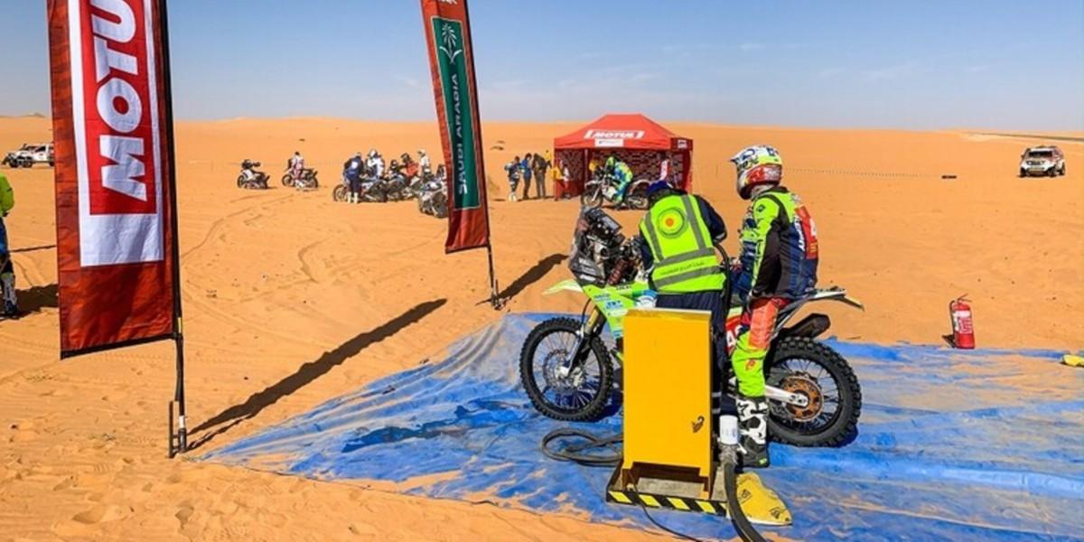 صورة وفاة دراج آخر في رالي دكار بالسعودية