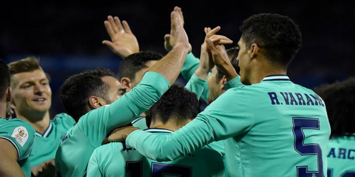 صورة ريال مدريد يدك شباك سرقسطة برباعية ويعبر إلى الدور القادم من كأس ملك إسبانيا