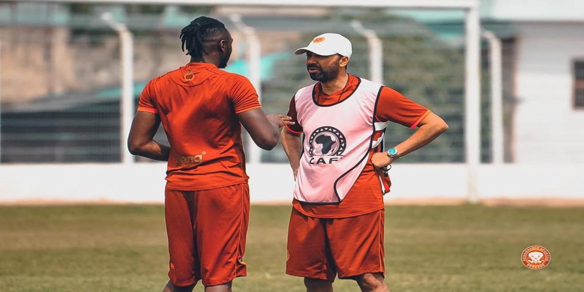 """صورة السكتوي عن لقاء أدجوبي: """"مباراة مهمة لأنها تعني لنا التأهل.. ونحن على أتم الاستعداد"""""""