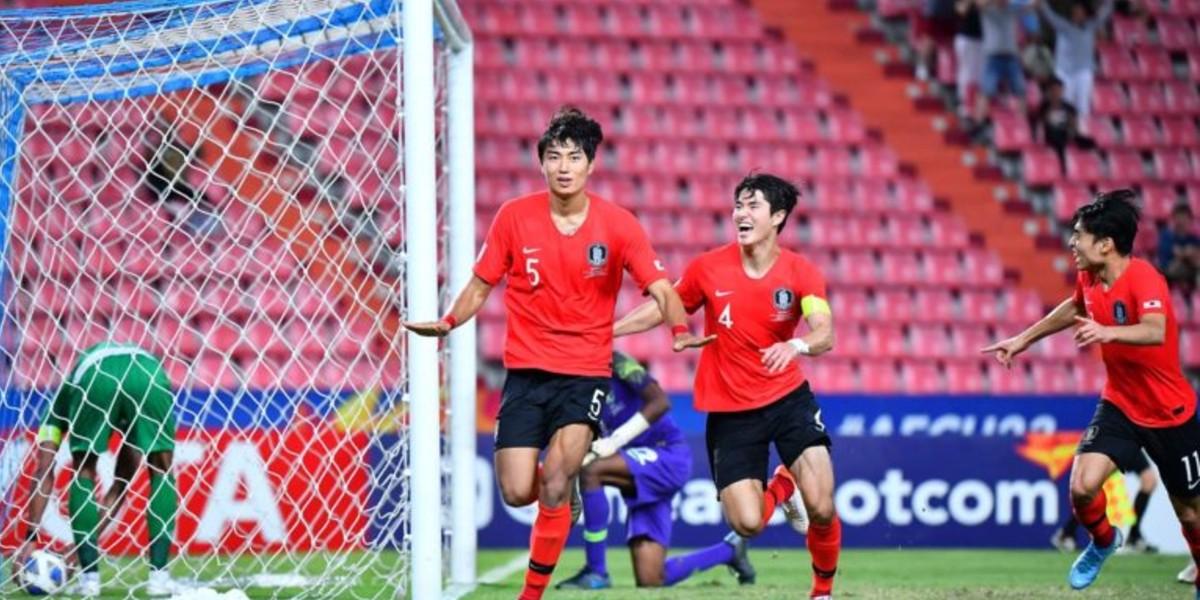 صورة منتخب الأولمبي السعودي ينهزم أمام كوريا الجنوبية في كأس آسيا