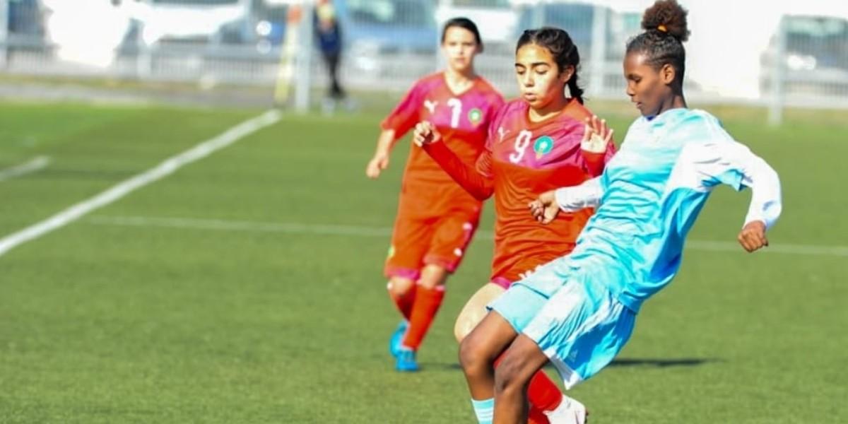 صورة المنتخب النسوي لأقل من 17 يتأهل للدور الثاني من إقصائيات كأس العالم