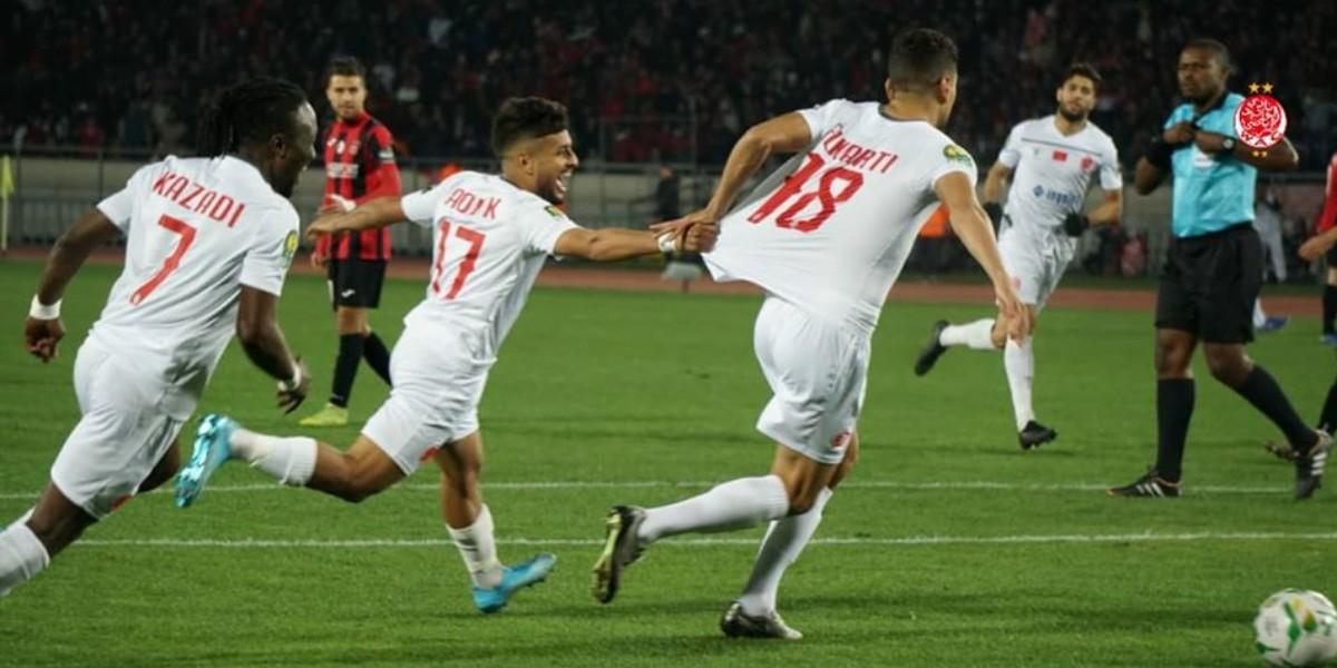 صورة الوداد يحسم بطاقة التأهل لربع نهائي دوري الأبطال بعد اكتساح اتحاد العاصمة