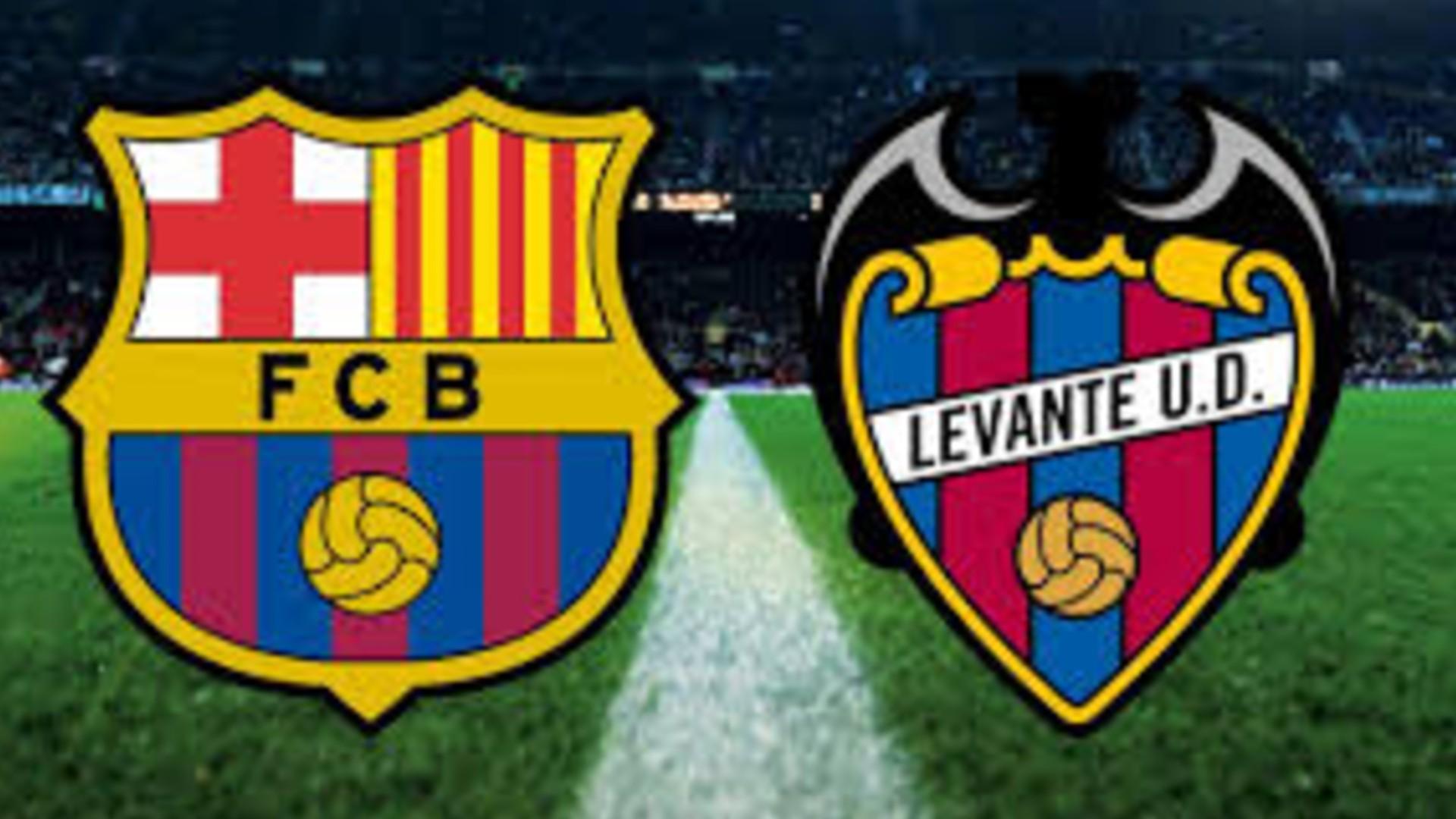 صورة البث المباشر لمباراة برشلونة وليفانتي