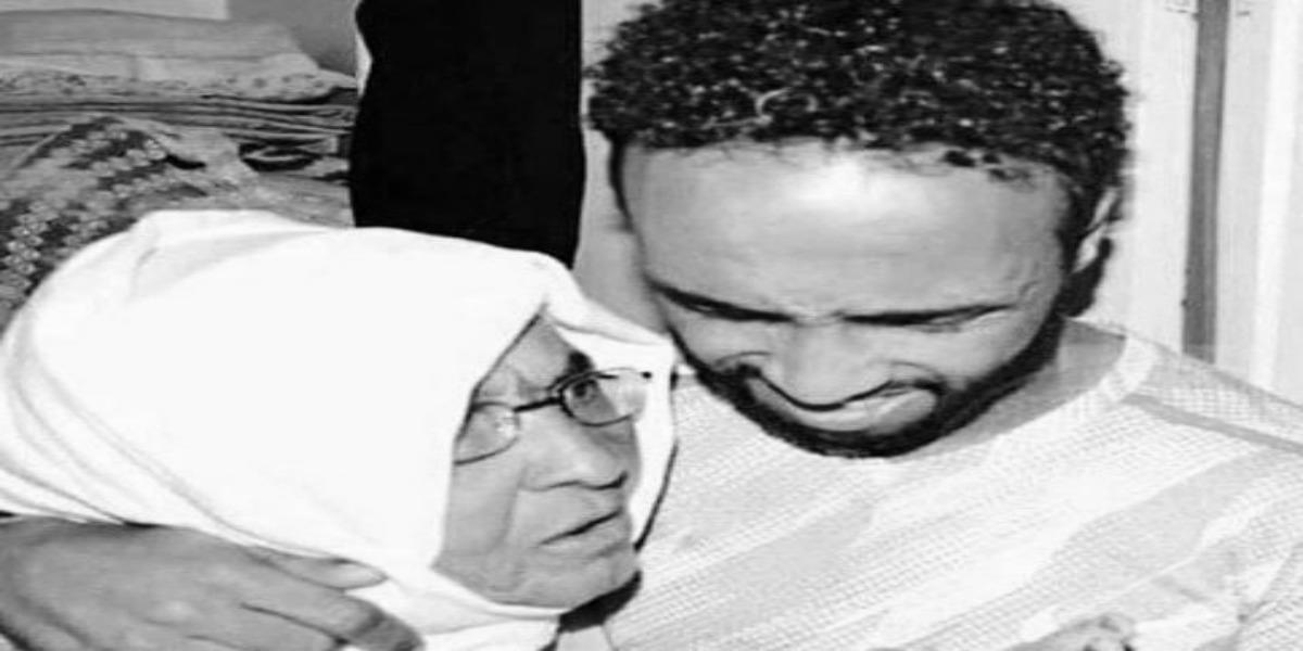صورة رسالة شكر من عصام الراقي بعد وفاة والدته