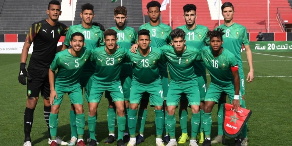 صورة المنتخب الوطني لأقل من 20 سنة يعبر لربع نهائي الكأس العربية بالعلامة الكاملة
