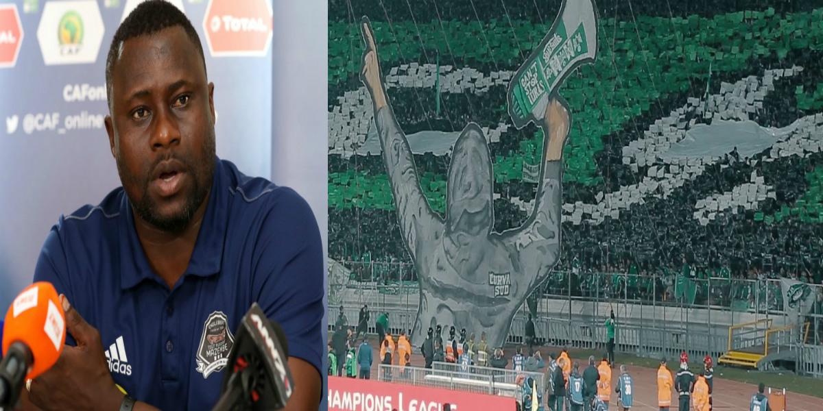 صورة مدرب مازيمبي يتحدث عن دور جماهير الرجاء في تألق لاعبيها