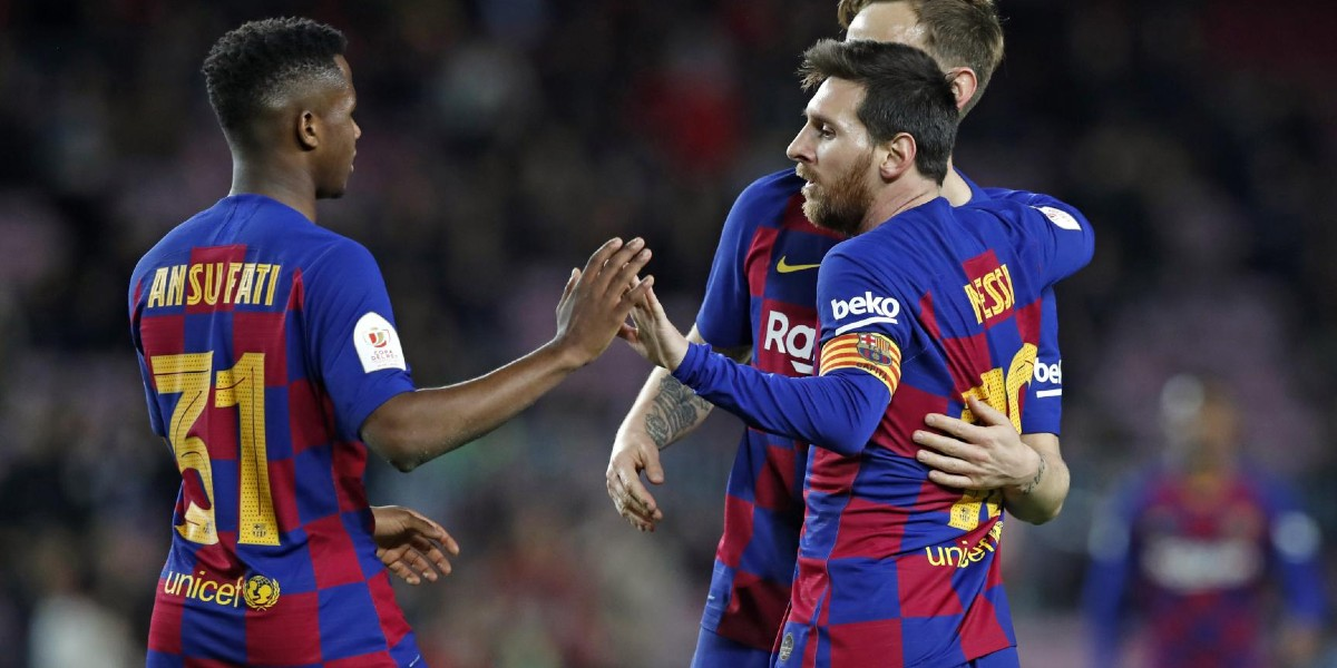 صورة فاتي يقود برشلونة إلى انتصار جديد على حساب ليفانتي