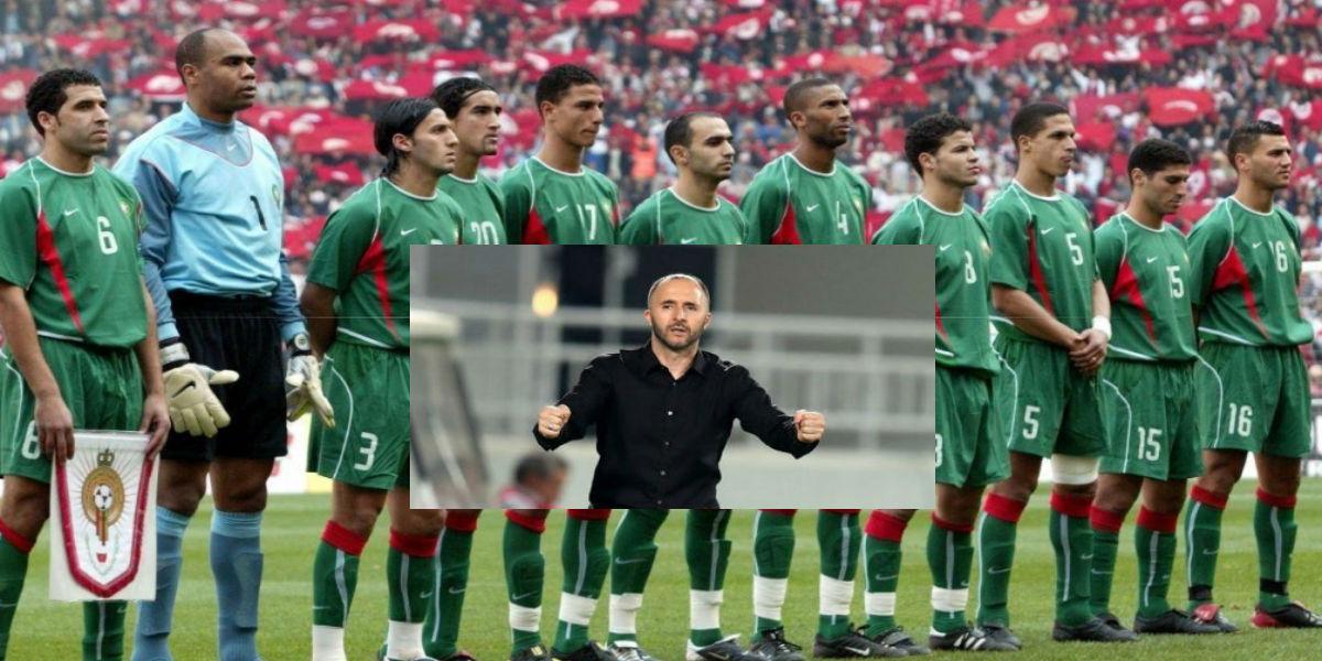 صورة رسميا.. نجم الأسود السابق ينضم للطاقم الفني الخاص بالمنتخب الجزائري