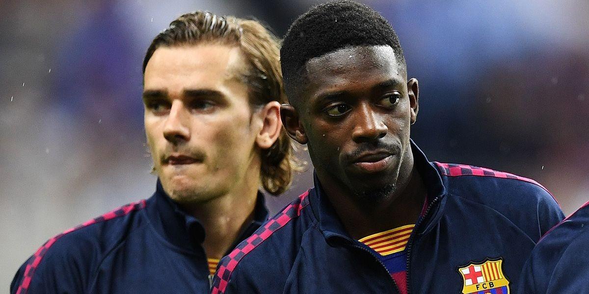صورة رسميا.. برشلونة يعلن إصابة نجمه الفرنسي وحديث عن نهاية موسمه