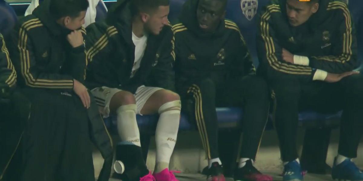 صورة ريال مدريد يكشف تفاصيل إصابة هازارد