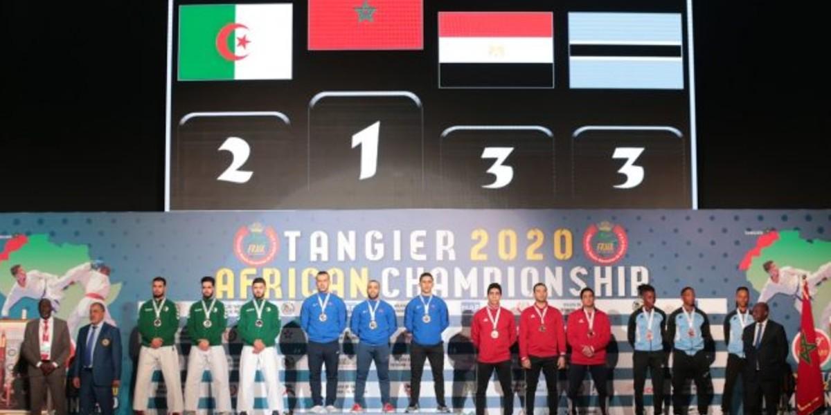 صورة المغرب يحرز لقب البطولة الافريقية للكاراتي بفوزه بسبع وثلاثين ميدالية