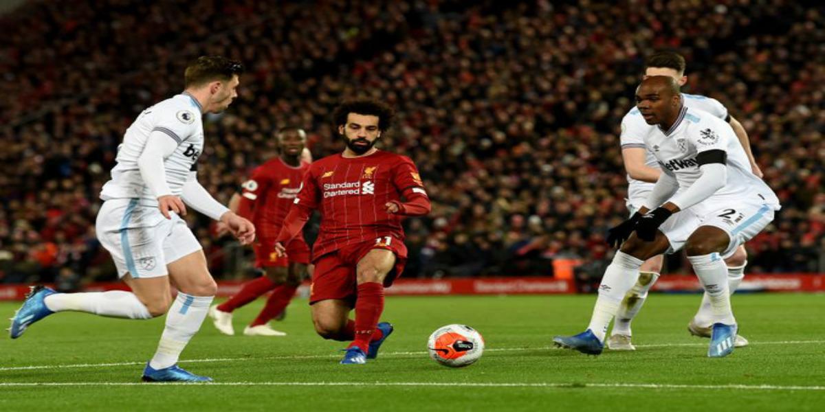 """صورة ليفربول ينجو من فخ وست هام بانتصار يعزز به سلسلة """"لا هزيمة""""- فيديو"""