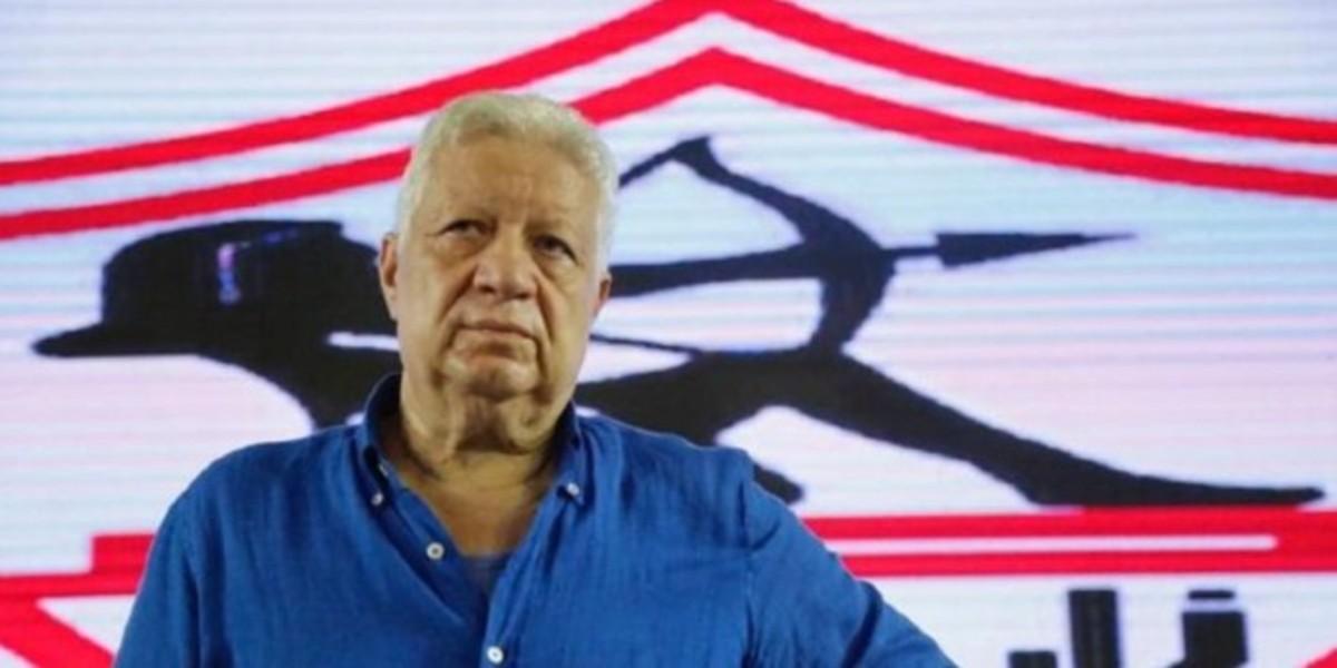 صورة رئيس الزمالك يعد جماهير الأبيض بمفاجأة ستهز مصر كرويا قبل مباراة الرجاء