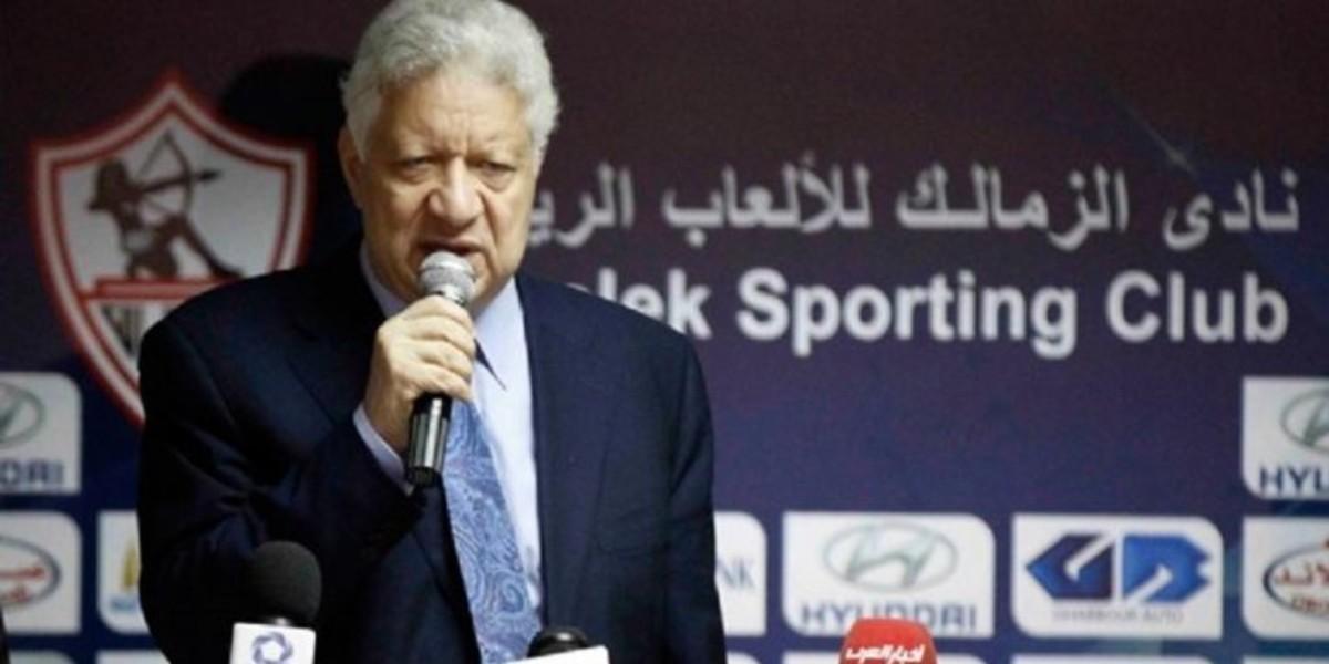 صورة منصور يتحدى الاتحاد المصري ويؤكد أن فريقه لن يتعرض لعقوبات بعد عدم حضوره لديربي القاهرة