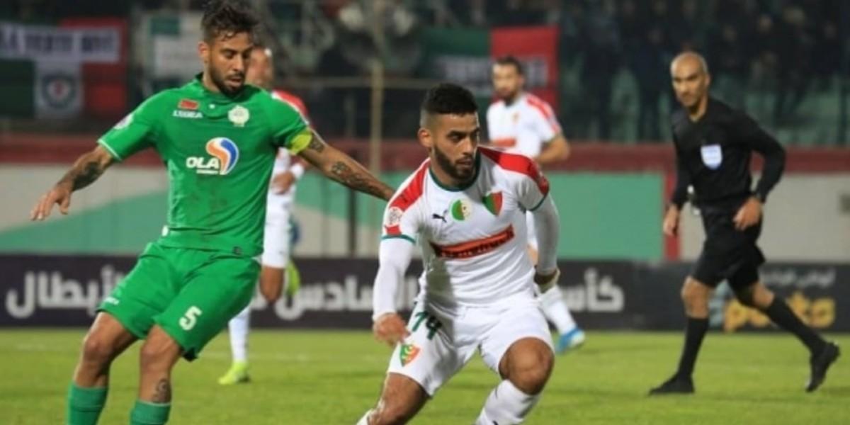 صورة الموعد والقناة الناقلة لمباراة الرجاء ومولودية الجزائر