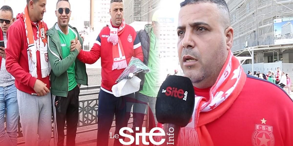 """Photo of مشجعو النجم الساحلي: """"جماهير الرجاء خوتنا ونتمنى لهم التأهل"""" -فيديو"""
