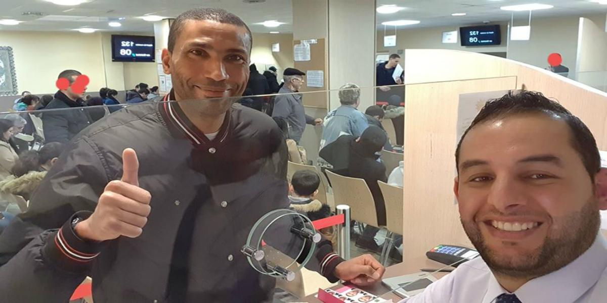 صورة وادو يشكر الجزائريين على حفاوة الترحيب