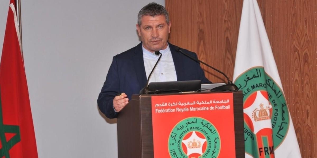 Photo of المدير التقني لجامعة الكرة يعقد ندوة صحفية لتقديم مدربي المنتخبات الوطنية