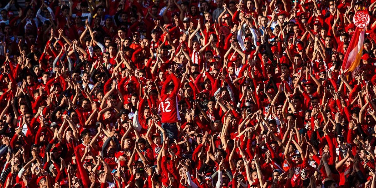 صورة منخرطو الوداد يطالبون بحضور الجماهير في مباراة قلوب الصنوبر