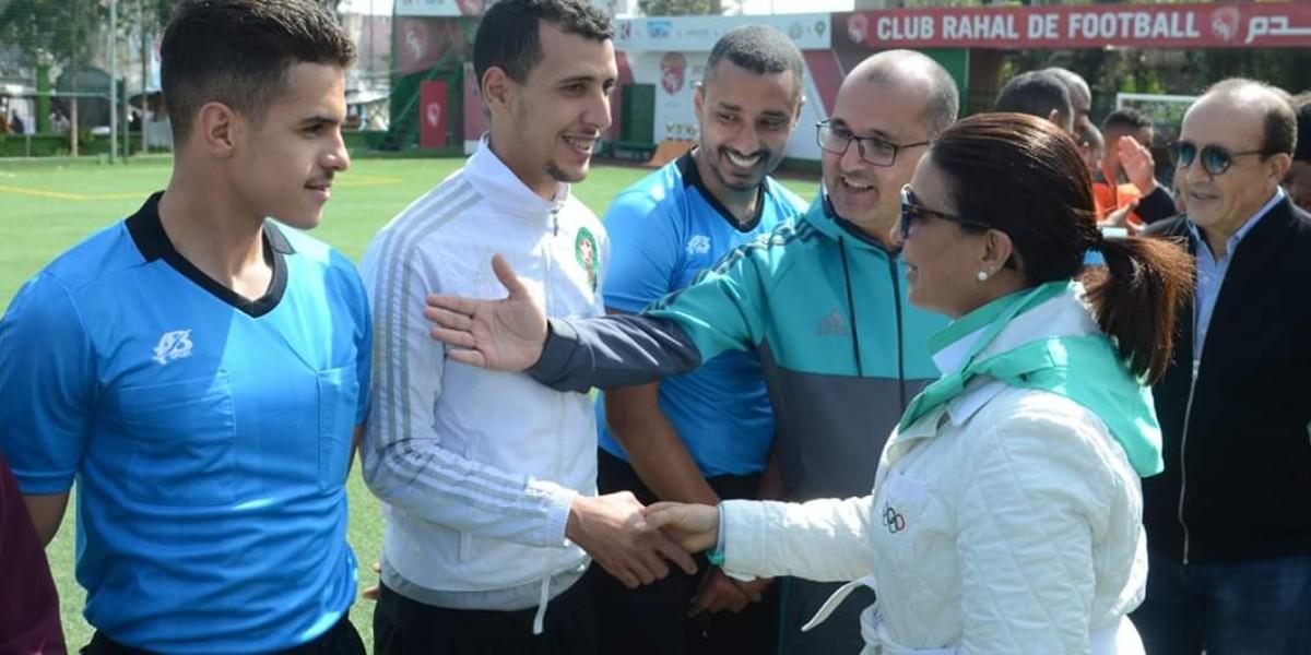 """صورة كأس """"محمد بوعبيد للصحافيين الرياضيين"""" في دورتها السادسة تحت شعار : """"قيم الوفاء واخلاقيات الرياضة تجمعنا"""""""