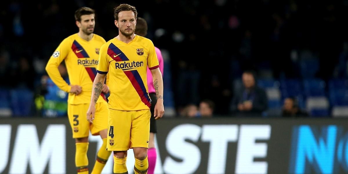 صورة راكيتيتش يصدم إدارة برشلونة