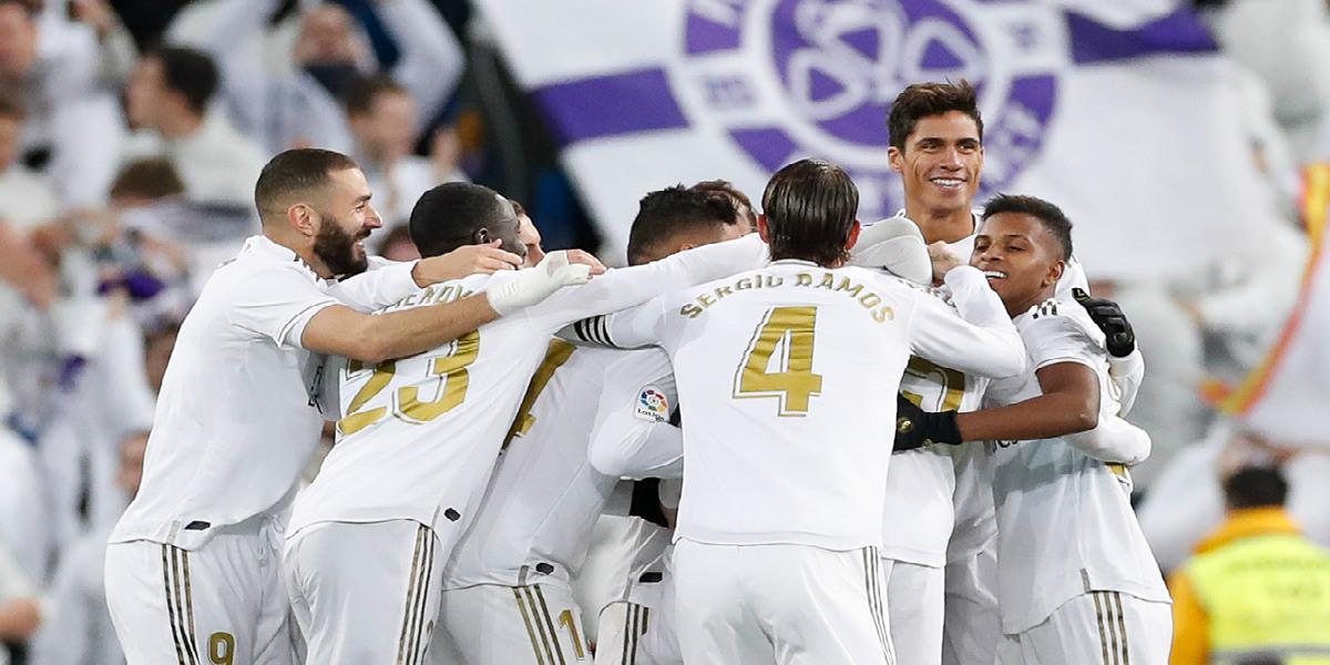 صورة قائمة ريال مدريد الأساسية أمام أوساسونا