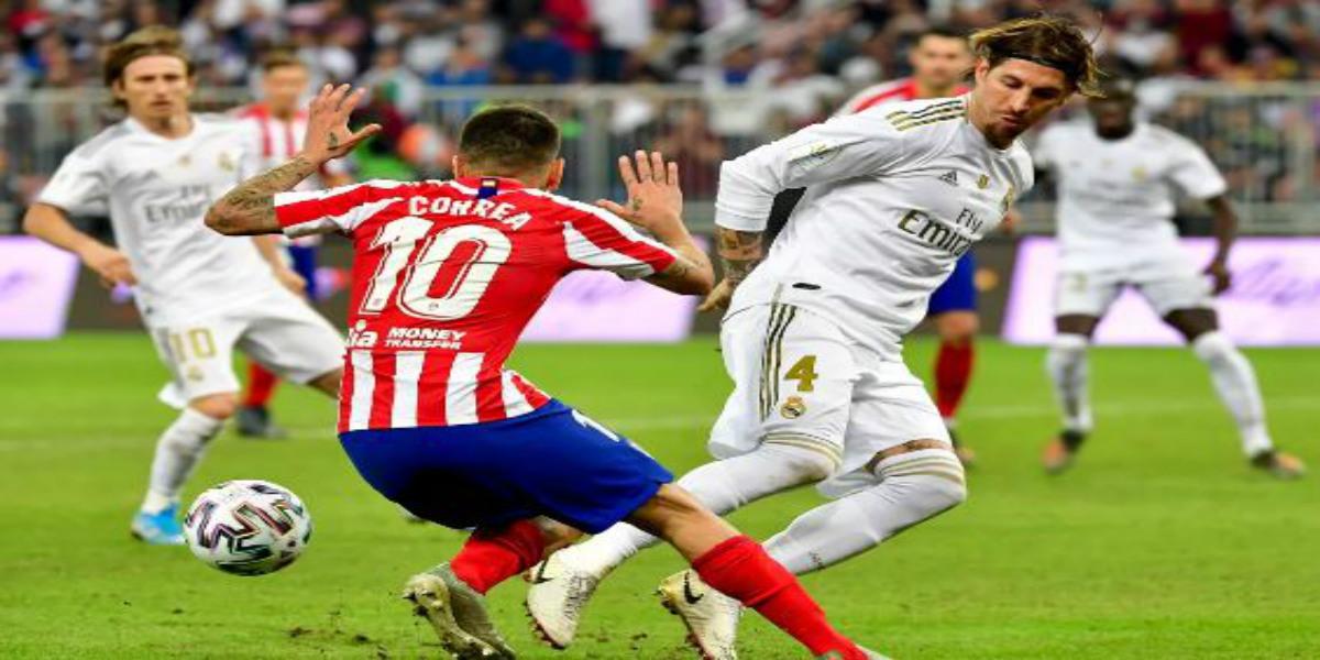 صورة البث المباشر لديربي ريال مدريد وأتليتيكو مدريد