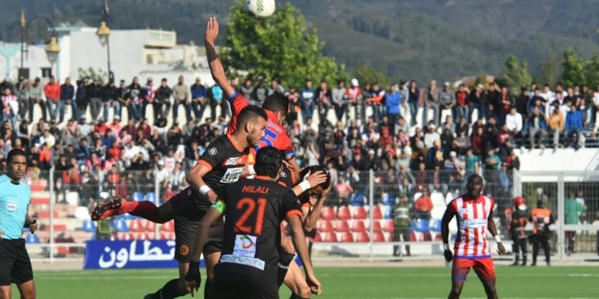 Photo of التعادل السلبي تحسم مباراة المغرب التطواني ونهضة بركان