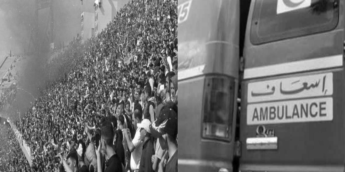صورة مشجع لاتحاد طنجة يتعرض للدهس في طريق عودته من أكادير