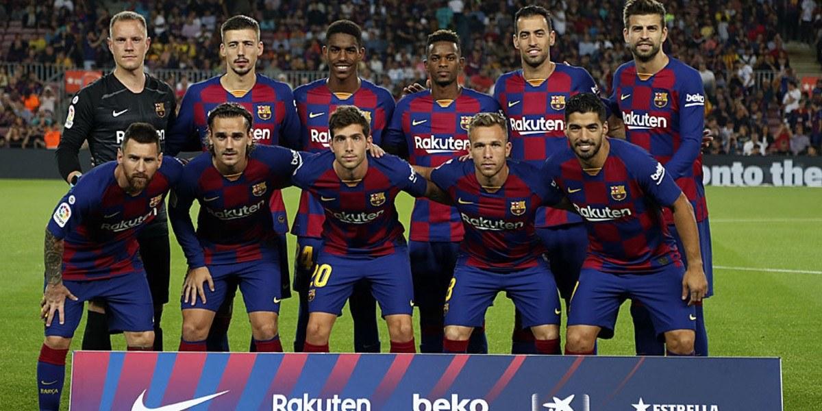 """صورة برشلونة يمنع نجمه من دخول """"كامب نو"""" لمتابعة مباراة نابولي"""