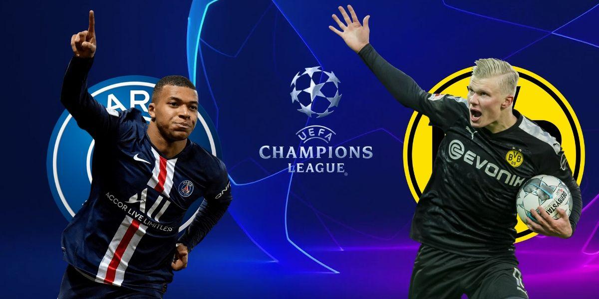 صورة البث المباشر لمباراة باريس سان جيرمان ودورتموند