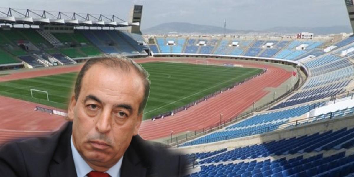 صورة عبيابة يطالب بتسريع وثيرة إصلاح ملعب فاس الكبير