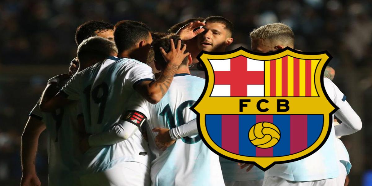 """صورة برشلونة يتقدم بعرضه الأول للتعاقد مع """"الجوهرة"""" الأرجنتينية"""