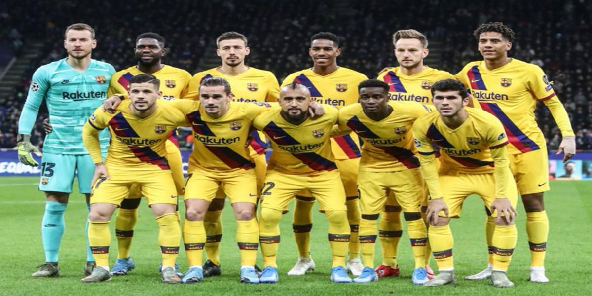 صورة بادرة رائعة من نجوم برشلونة اتجاه فريقهم
