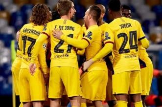 لاعبو برشلونة يتدربون معا لأول مرة منذ 3 أشهر