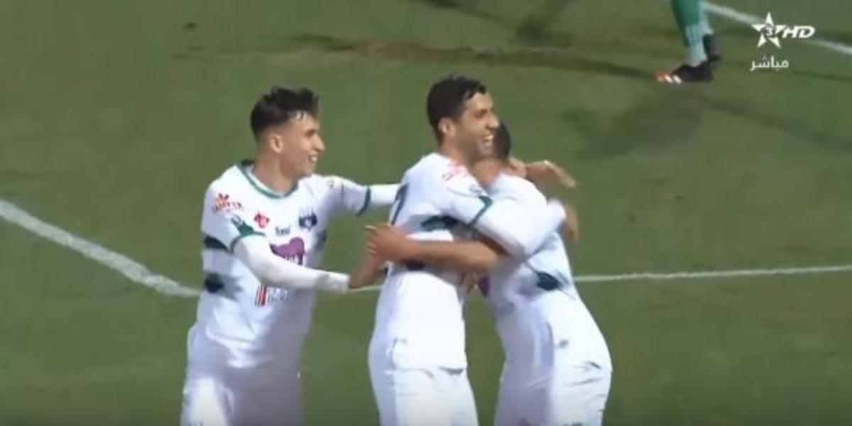 صورة التعادل يحسم مباراة يوسوفية برشيد ومولودية وجدة
