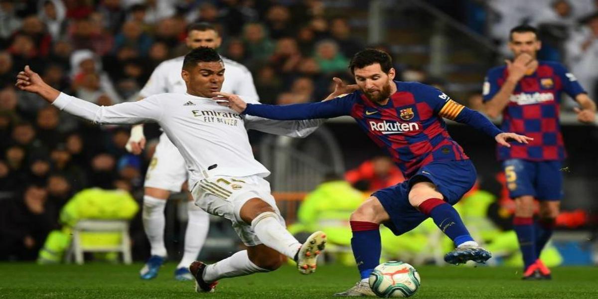 """صورة """"الكلاسيكو"""".. التشكيلتان الأساسيتان لبرشلونة وريال مدريد"""