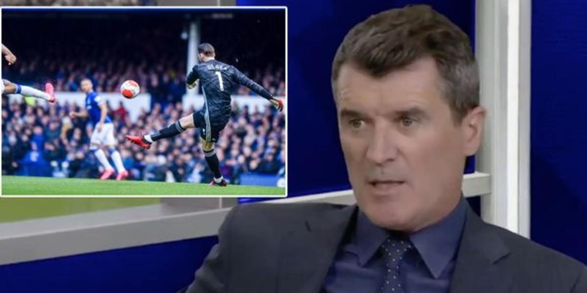 """صورة أسطورة مانشستر يونايتد: """"لو كنت مدربا لقتلت دي خيا بين شوطي مباراة إيفرتون! """""""