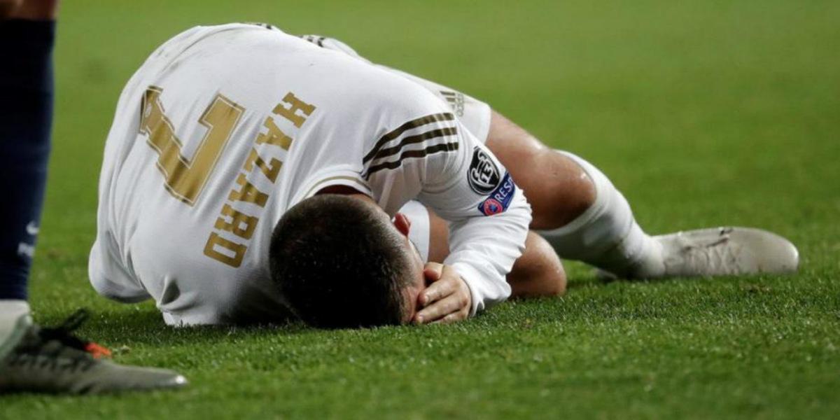 صورة ريال مدريد يعلن تجدد إصابة هازارد واحتمال غيابه عن الكلاسيكو