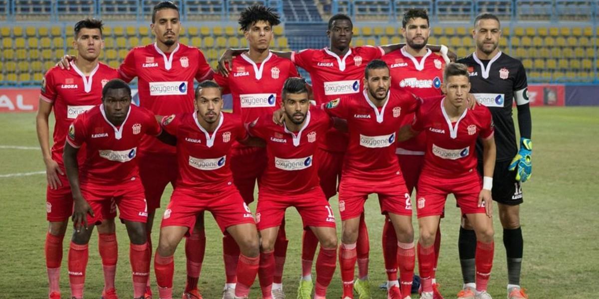 صورة الموعد والقناة الناقلة لمباراة حسنية أكادير والنصر الليبي