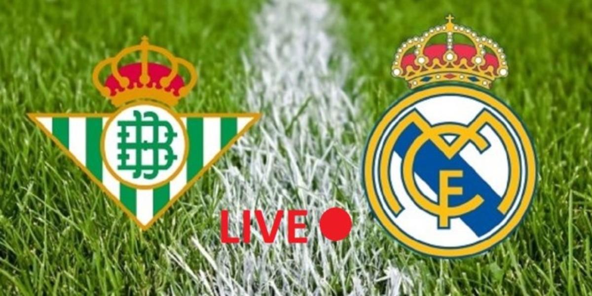 صورة البث المباشر لمباراة ريال مدريد وريال بيتيس