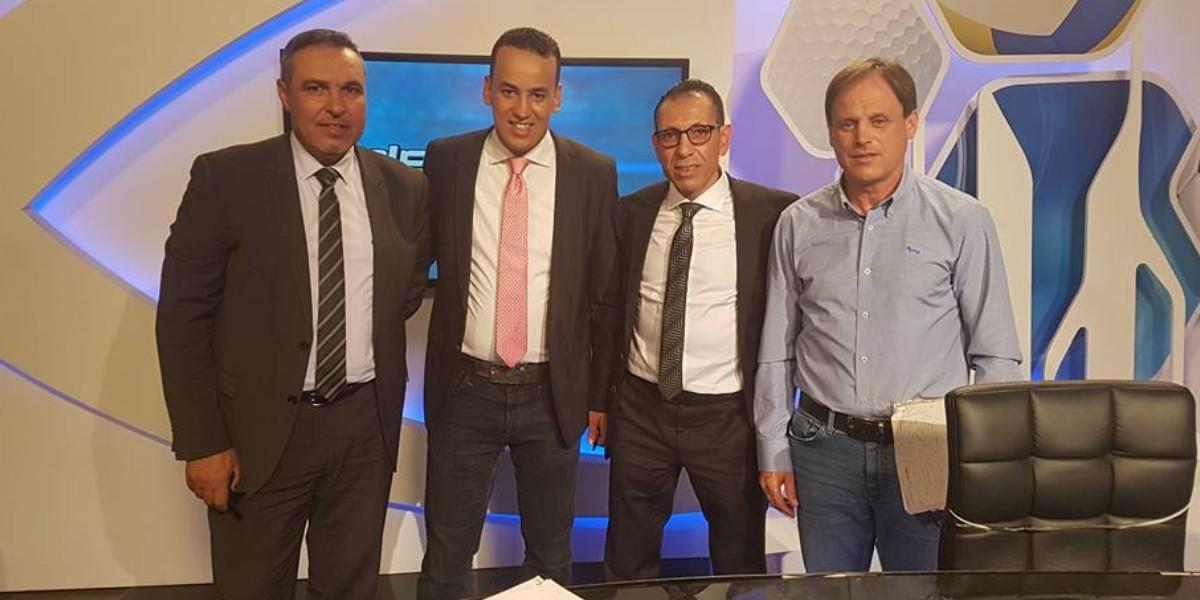 """صورة بسبب كورونا.. معلق مغربي بـ""""الرياضية"""" يقود مبادرة من نوع خاص"""