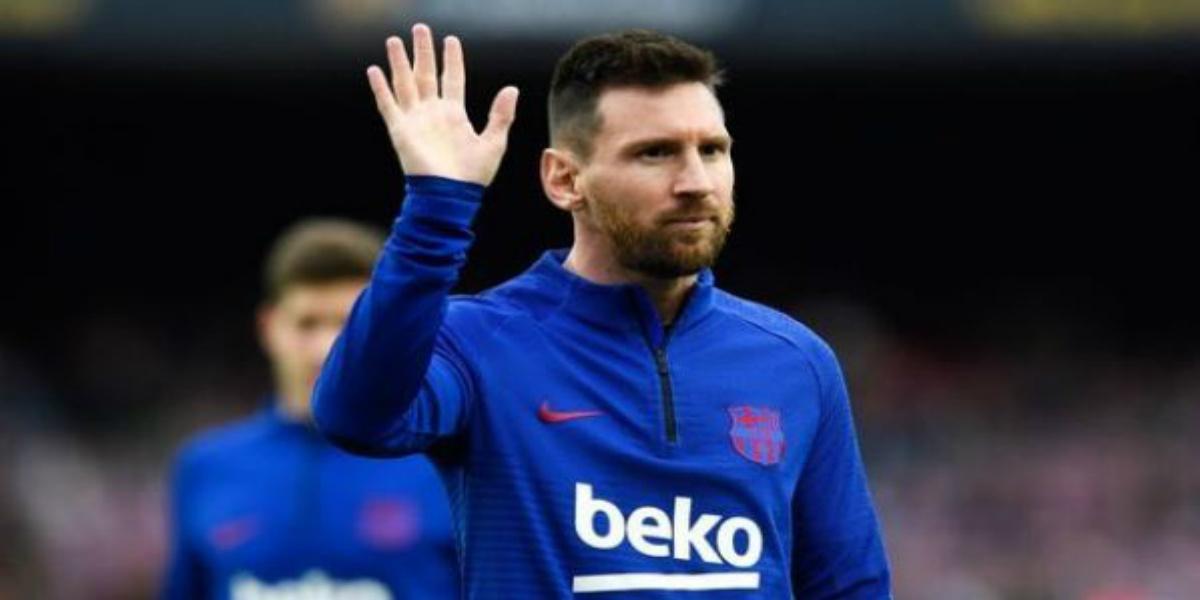 صورة بيان من ميسي يحدد فيه مصيره مع برشلونة